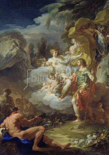 Corrado Giaquinto: Venus und Aeneas.