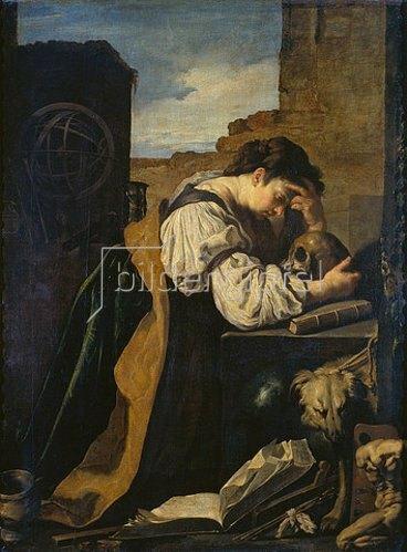 Domenico Fetti: Die Melancholie. Um 1621/1623.
