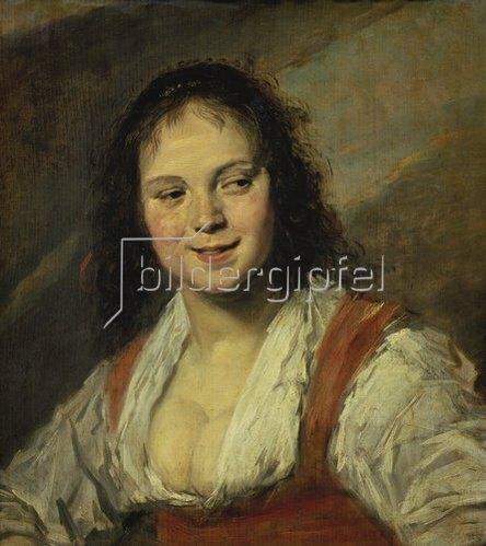 Frans Hals: Die Zigeunerin.