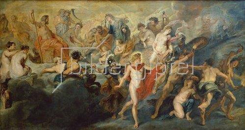 Peter Paul Rubens: Medici-Zyklus:Die Herrschaft der Königin (oder: Der Rat der Götter).