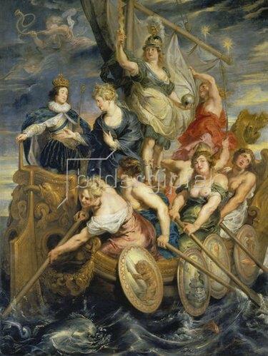 Peter Paul Rubens: Medici-Zyklus: Die Volljährigkeit Ludwigs XIII., 20.10.1614.