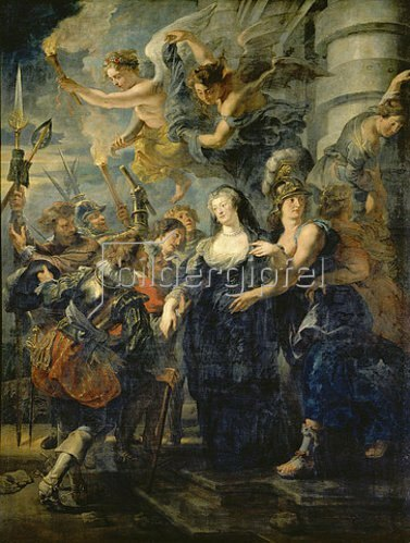 Peter Paul Rubens: Medici-Zyklus: Die Flucht der Königin aus Blois, 21./22.2.1619.