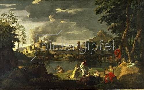 Nicolas Poussin: Orpheus und Eurydike.