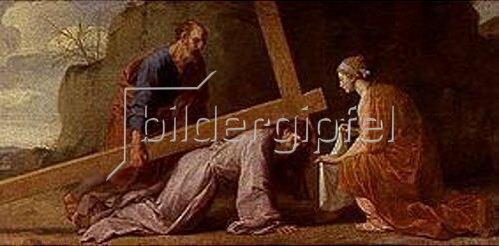 Eustache Le Sueur: Kreuztragung Christi. Um 1651.
