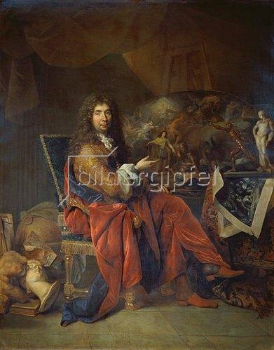Nicolas de Largilliere: Charles Le Brun, erster Maler des Königs. 1686