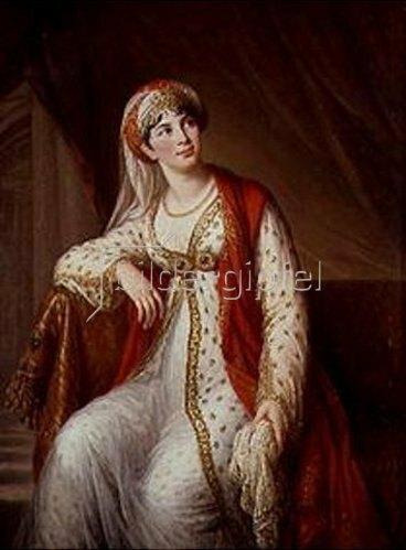 Elisabeth-Louise Vigée-Lebrun: Bildnis der Sängerin Grassini. 1805.