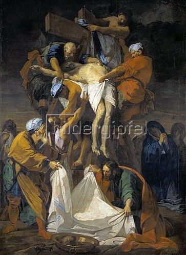 Jean-Baptiste Jouvenet: Die Kreuzabnahme. 1697.
