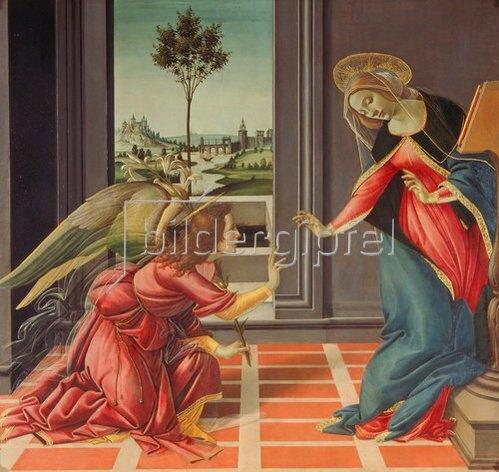 Sandro Botticelli: Die Verkündigung Mariae von Cestello.