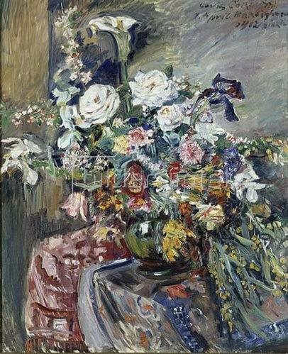 Lovis Corinth: Blumenstrauss. 1912.
