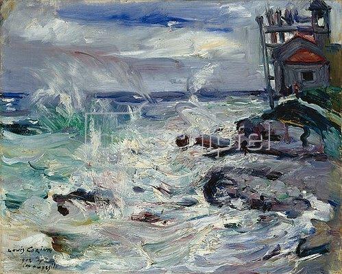 Lovis Corinth: Sturm auf Cap Ampeglio. 1912.