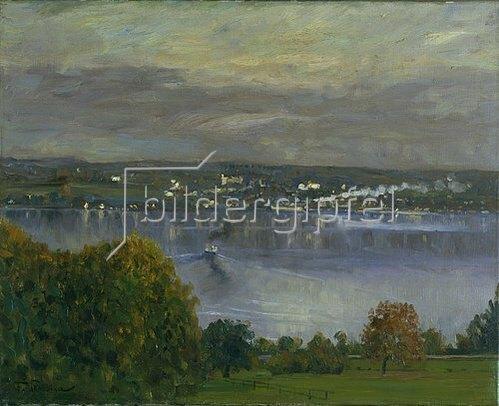 Franz Skarbina: Starnberger See.