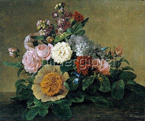 Georg Friedrich Kersting: Blumenstilleben. 1830/1840