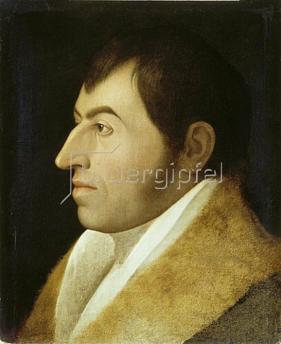 Johann Friedrich Overbeck: Bildnis Ernst Platner.