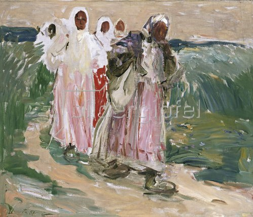Robert Sterl: Erntefrauen in Russland. 1928