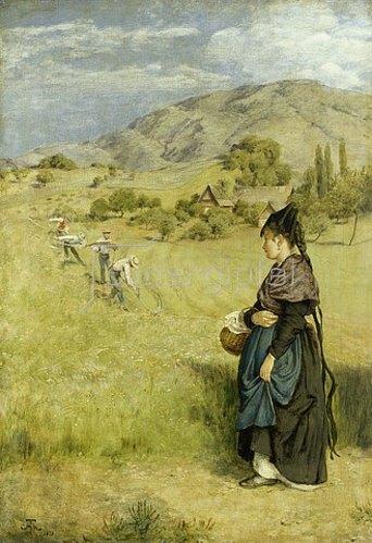 Hans Thoma: Sommer im Schwarzwald. 1873