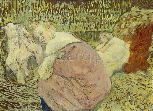 Henri de Toulouse-Lautrec: Zwei Freundinnen. 1895