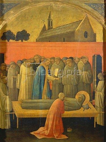 Lorenzo di Monaco: Der Tod des hl.Franziskus.
