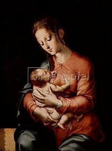Luis de Morales: Madonna mit Kind