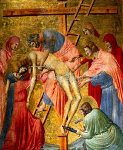 Pietro da Rimini: Die Kreuzabnahme. Um 1330/1340.