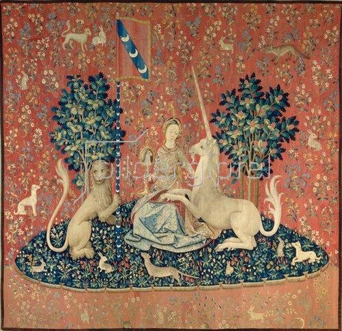 Französisch: Die Dame mit dem Einhorn. Zwischen 1484 und 1500