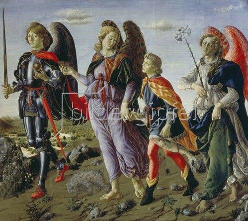 Francesco Botticini: Tobias und die drei Engel.