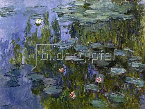 Claude Monet: Seerosen (Nympheas). 1918/1921.