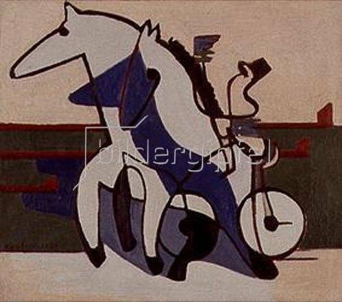 Ernst Ludwig Kirchner: Trabergespann. 1930.