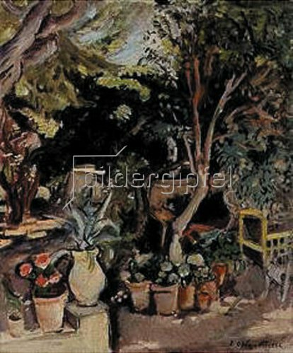 Emile Othon Friesz: Garten. 1928.
