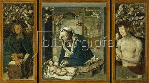 Albrecht Dürer: Der Dresdener Altar. Um 1496