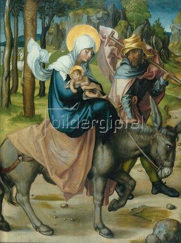 Albrecht Dürer: Die Flucht nach Ägypten, 1495/96