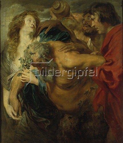 Anthonis van Dyck: Der trunkene Silen. Um 1620.