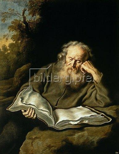 Salomon Koninck: Der Eremit. 1643