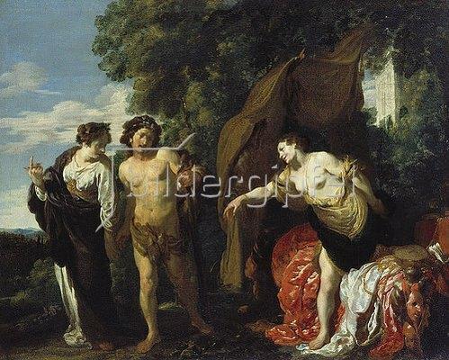 Johann Liss (Lys): Herkules am Scheidewege. Um 1625