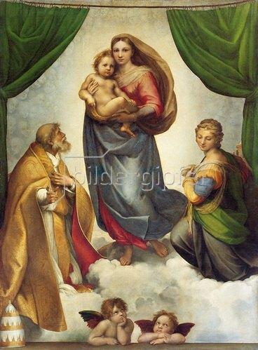 Raffael: Sixtinische Madonna 1512-1513