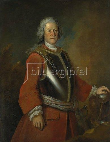 Louis Silvestre d.J.: Jean de Bodt, Bildnis, 1729.
