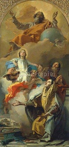 Giovanni Battista Tiepolo: Die Vision der hl.Anna. 1759
