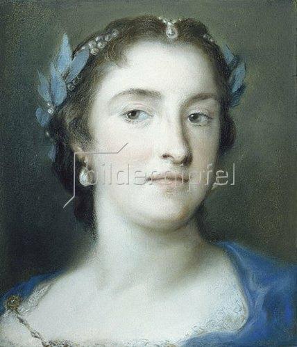 Rosalba Carriera: Die Sängerin Faustina Hasse-Bordoni. Gegen 1739.
