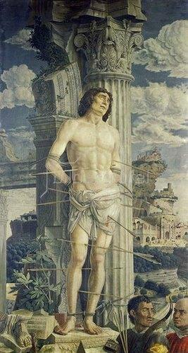 Andrea Mantegna: Der hl.Sebastian. Um 1480.