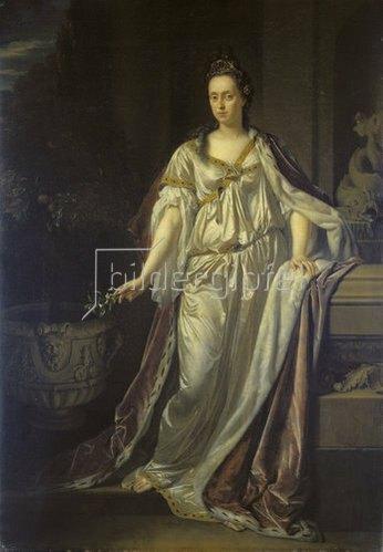 Adriaen van der Werff: Anna Maria Luisa de'Medici.