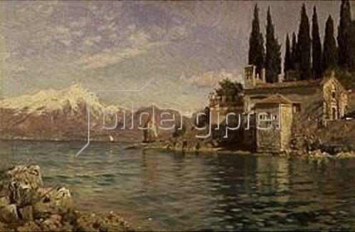 Peder Moensted: St.Vigilio am Gardasee. 1909.
