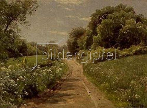 Peder Moensted: Sommerspaziergang. 1921.