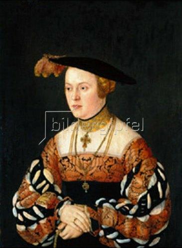 Bartel Beham: Maria Jakobäa von Baden.