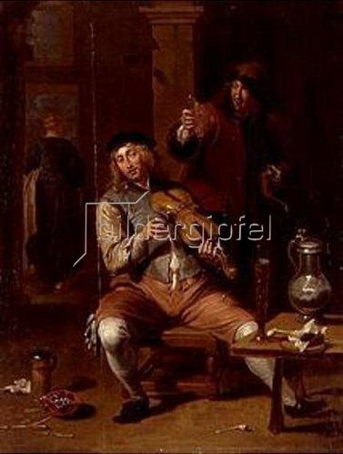 Willem van Herp: Der Geigenspieler.