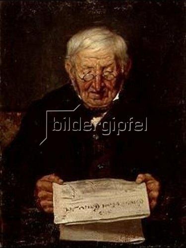 Leon Jean Petua: Le pere Stiefel. 1892.