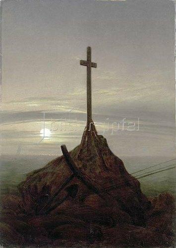 Caspar David Friedrich: Das Kreuz an der Ostsee. 1815.