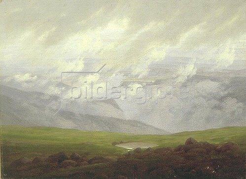 Caspar David Friedrich: Ziehende Wolken. 1821.