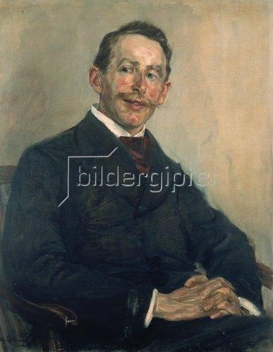 Max Liebermann: Bildnis Dr. Max Linde. 1897.