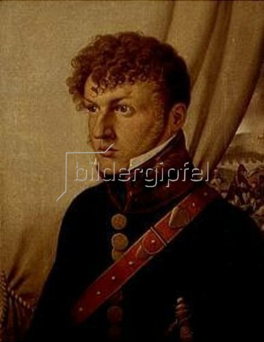 Johann Friedrich Overbeck: Bildnis des Arztes Johann Christian Jeremias Martini. 1809.