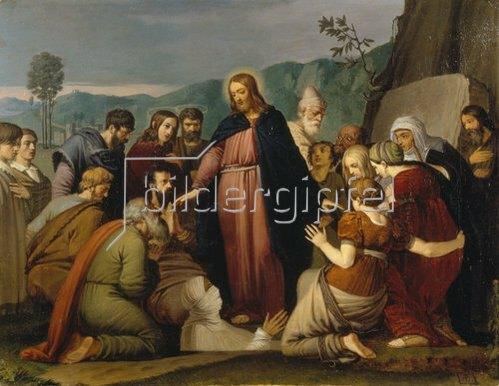 Johann Friedrich Overbeck: Die Auferweckung des Lazarus. 1808