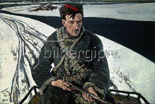 Sergei Maljutin: Der Partisan. 1936.